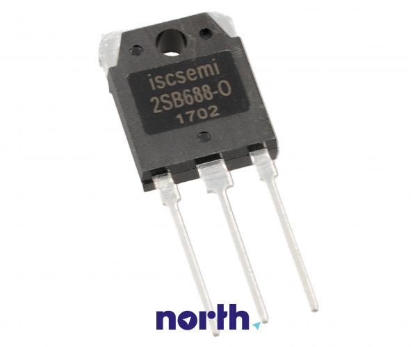 2SB688 Tranzystor TO-3P (pnp) 120V 8A 10MHz,0