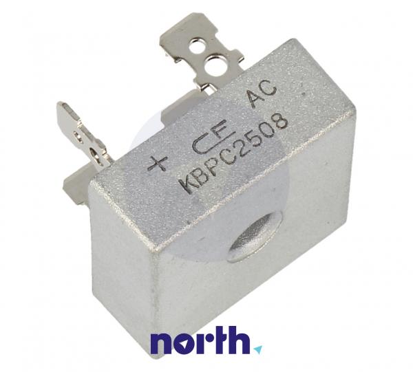 KBPC2508 Mostek prostowniczy 800V 25A,0
