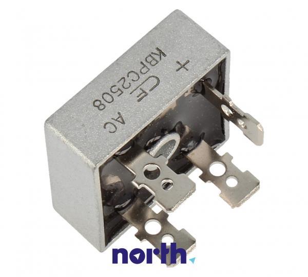 KBPC2508 Mostek prostowniczy 800V 25A,1