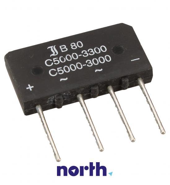 B80C5000-3300 Mostek prostowniczy 80V 5A SO33/205,0