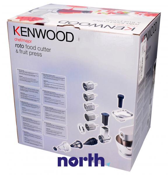 Zestaw przystawek AT642A do robota kuchennego Kenwood AWAT642B01,3