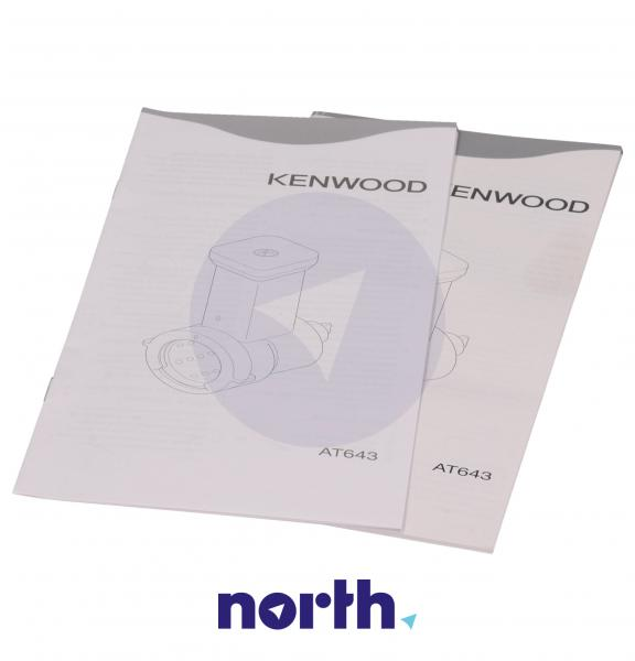 Zestaw przystawek AT642A do robota kuchennego Kenwood AWAT642B01,5