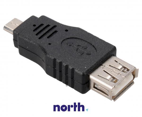 Adapter USB A 3.0 - USB B micro 3.0 (gniazdo/ wtyk),0