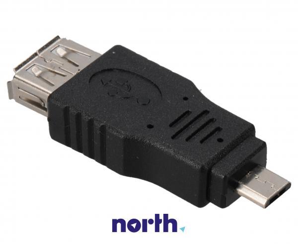 Adapter USB A 3.0 - USB B micro 3.0 (gniazdo/ wtyk),1