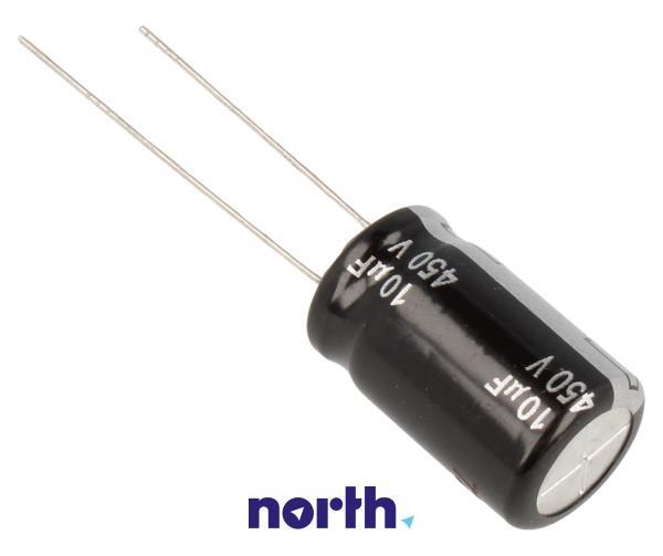 10uF   50V Kondensator elektrolityczny 105°C EEUEE2W100 20mm/12.5mm,1