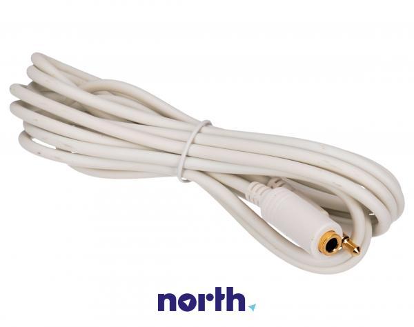 Kabel 2m JACK 3.5mm 4 pin - JACK (wtyk/3.5mm 4 pin gniazdo),0