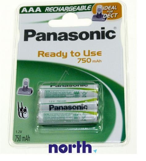 R3 Akumulator AAA 1.2V 750mAh Panasonic (3szt.),0
