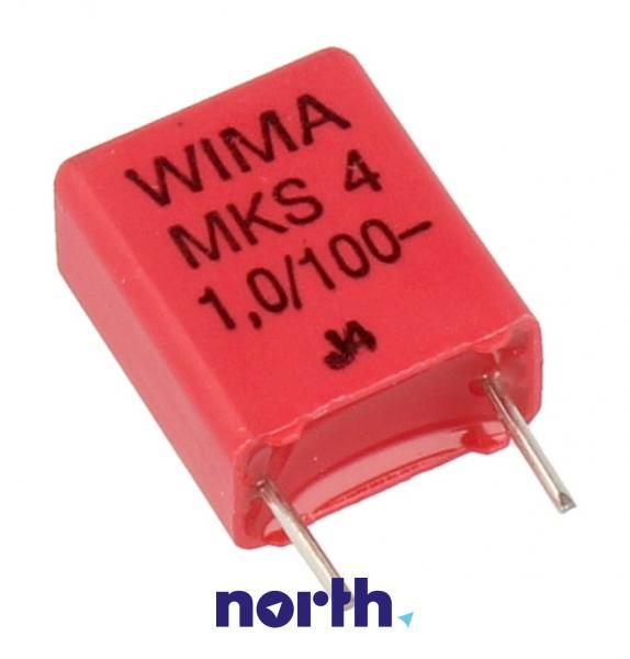 1uF   100V Kondensator impulsowy MKS4 WIMA,0