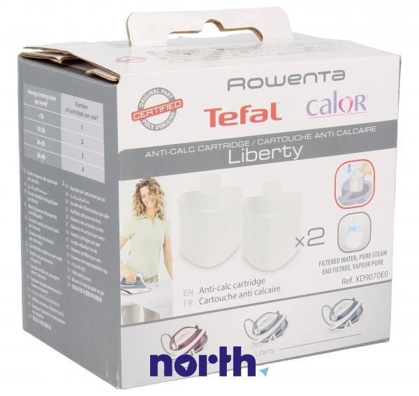 Filtr | Wkłady antywapienne XD9070E0 do żelazka Tefal XD9070E0 2szt.,0