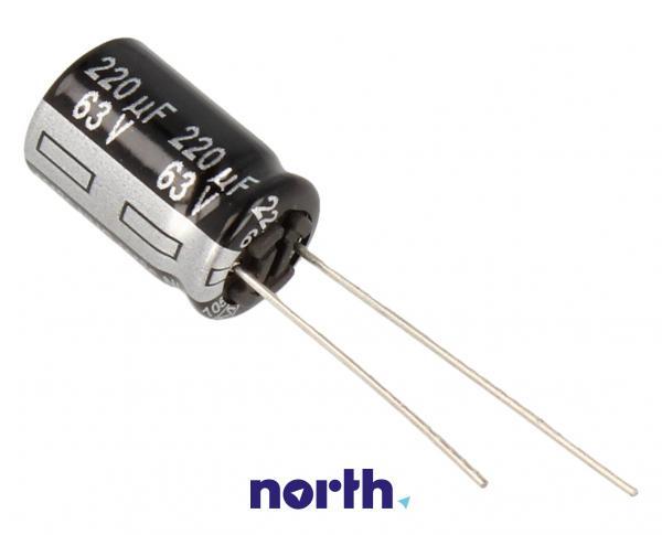 220uF   64V Kondensator elektrolityczny ECA1JHG221,0