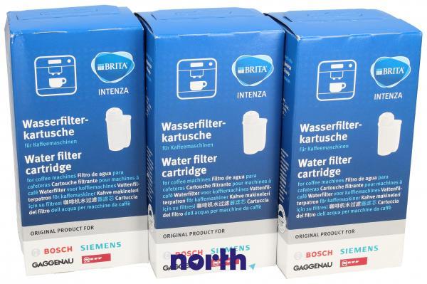 Filtr wody TZ70003 Intenza do ekspresu do kawy Bosch 17000706 3szt.,0