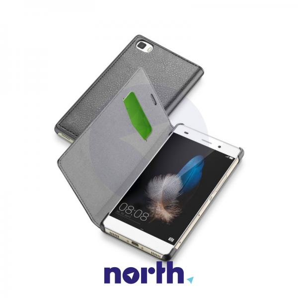 Pokrowiec | Etui Flip Cover do smartfona CELLULAR LINE P8 Lite 36938 (szare),0