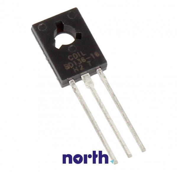 BD136-16 Tranzystor TO-126 (pnp) 45V 1.5A 75MHz,0