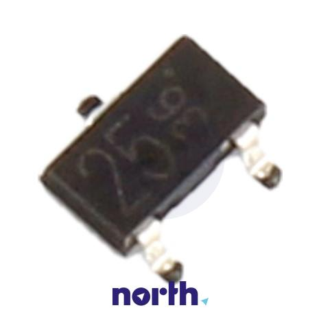 DTC124K Tranzystor SOT-23 (npn) 50V 100mA 1MHz,0