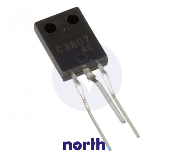 2SC3807 Tranzystor TO-126 (npn) 25V 2A 260MHz,0