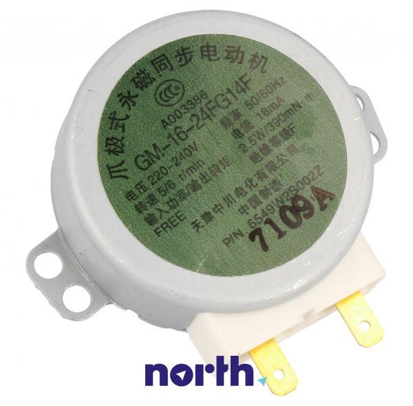 Silnik napędowy GM-16-24FG14F mikrofalówki LG 6549W2S002Z,0