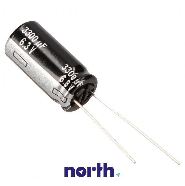 3300uF | 6V Kondensator elektrolityczny 105°C 25mm/10mm,0