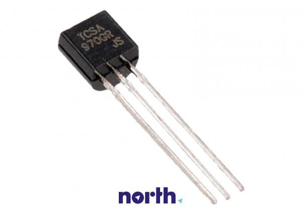 2SA970 Tranzystor TO-92 (pnp) 120V 0.1A 100MHz,0