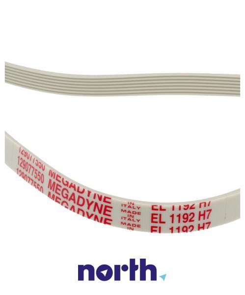 1192H7 Pasek napędowy elastyczny do pralki,1