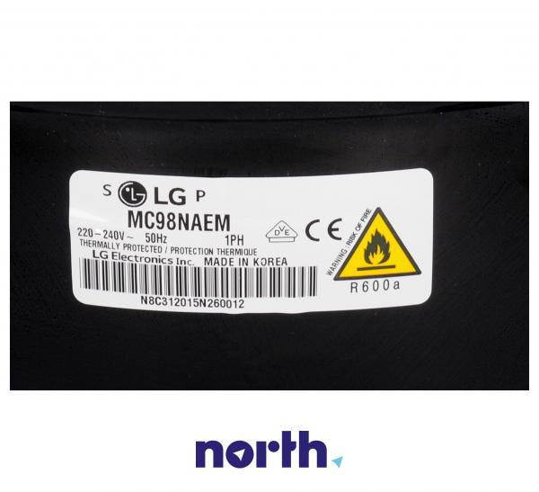 Sprężarka   Kompresor lodówki LG TCA32803801 (agregat),4