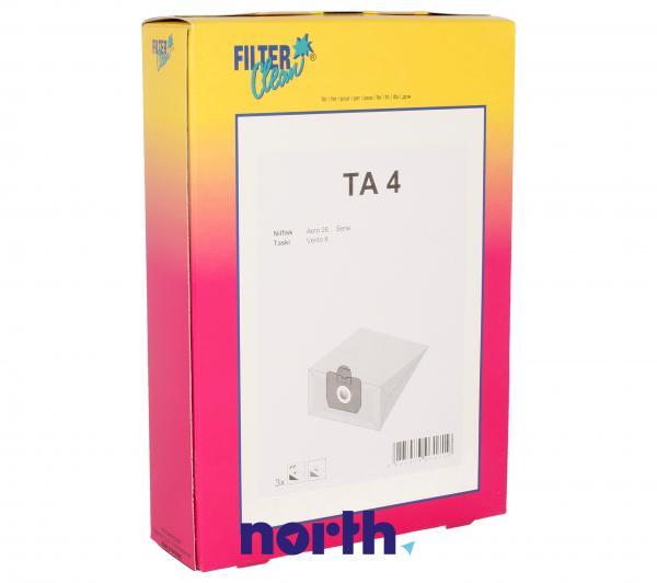 Worek TA4 do odkurzacza 3szt.,0