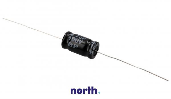 4.7uF | 100V Kondensator elektrolityczny bipolarny 85°C 30mm/10mm,0