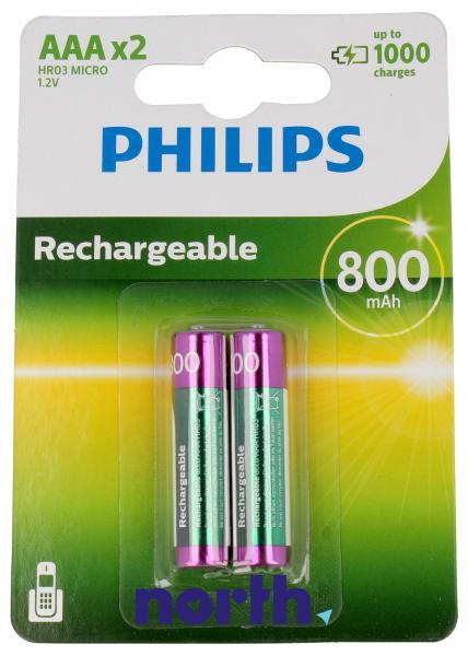 R3 Akumulator AAA 1.2V 800mAh Philips (2szt.),0