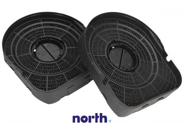 Filtr węglowy aktywny w obudowie (okrągły) do okapu Amica 1000560,1