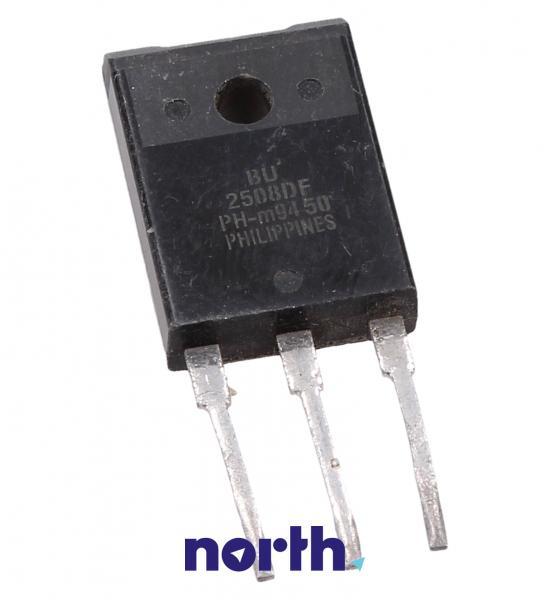 BU2508DF Tranzystor SOT-199 (npn) 1500V 8A 1MHz,0