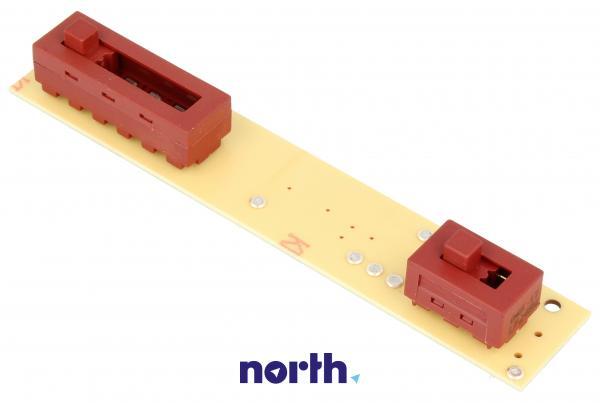 Sterownik   Płytka z przełącznikami panelu sterowania do okapu Whirlpool 481929068272,1