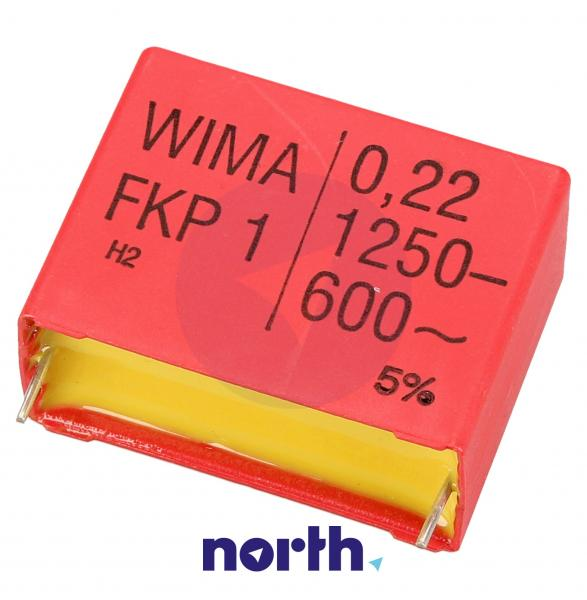 220nF | 1250V Kondensator impulsowy FKP1 WIMA 32mm,0