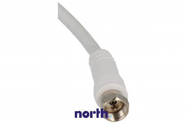 Kabel antenowy Złącze F 5m (wtyk/wtyk) standard,1