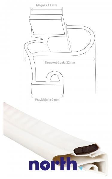 Uszczelka magnetyczna drzwi uniwersalna do lodówki (200cm x 100cm),4