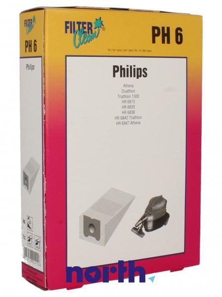 Worek do odkurzacza PH6 Philips 4szt. 000232K,0