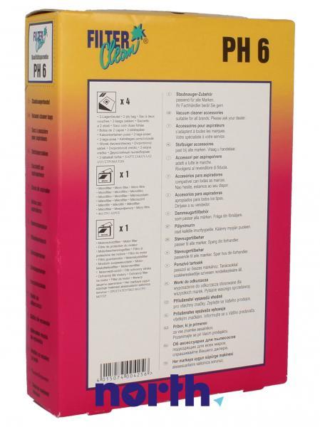 Worek do odkurzacza PH6 Philips 4szt. 000232K,1