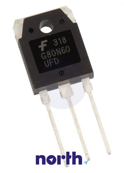 SGH80N60UFDTU Tranzystor TO-3P (npn) 600V 80A 10MHz,0