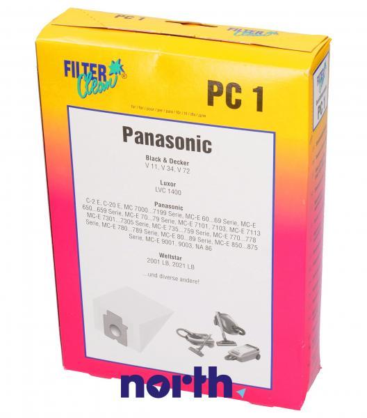 Worek do odkurzacza PC1 4szt. (+3 filtry) 000055K,0