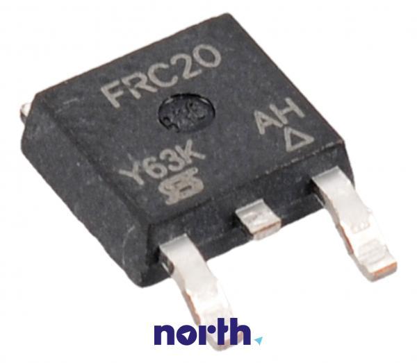 IRFRC20 Tranzystor TO-252 (n-channel) 600V 2A 43MHz,0