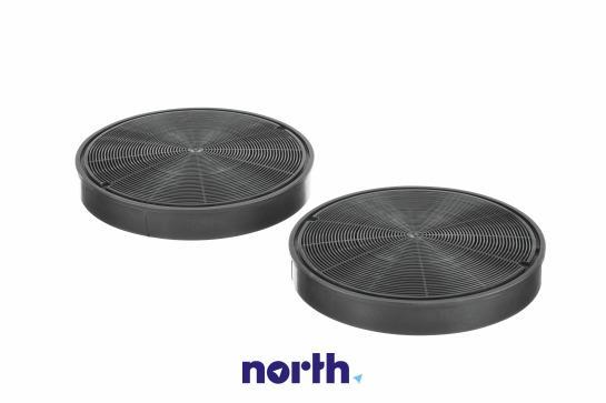 Filtr węglowy aktywny aktywny w obudowie do okapu Siemens 00668492,1