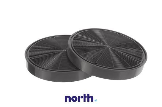 Filtr węglowy aktywny aktywny w obudowie do okapu Siemens 00668492,2