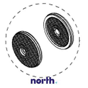 Filtr węglowy aktywny aktywny w obudowie do okapu Siemens 00668492,3