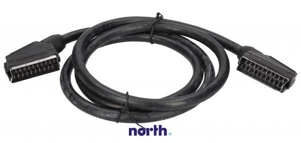 Kabel SCART 1.5m (wtyk/wtyk),0