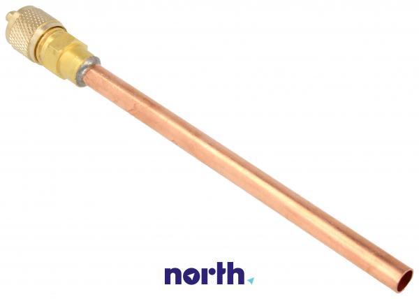 Wentyl | Zawór Schradera z rurką do napełniania sprężarki do lodówki 6NFMSSV,0