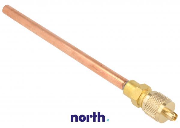 Wentyl | Zawór Schradera z rurką do napełniania sprężarki do lodówki 6NFMSSV,1