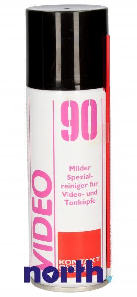 Preparat czyszczący 90-VIDEO-SPRAY do optyki Kontakt Chemie 90VIDEOSPRAY 200ml,0