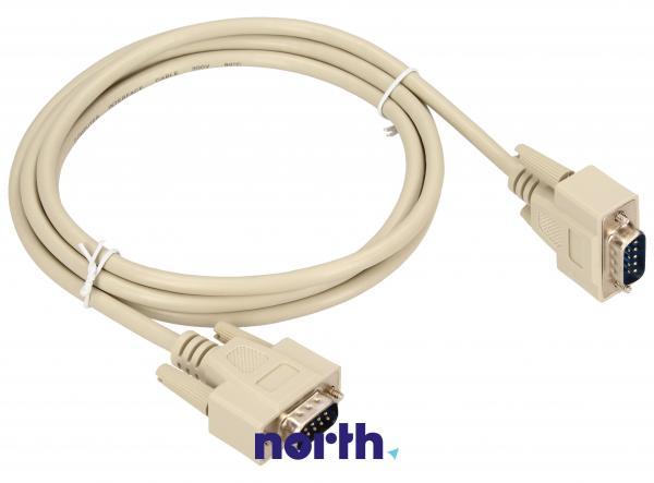 Kabel COM 9 pin 2m (wtyk/ wtyk) standard,0
