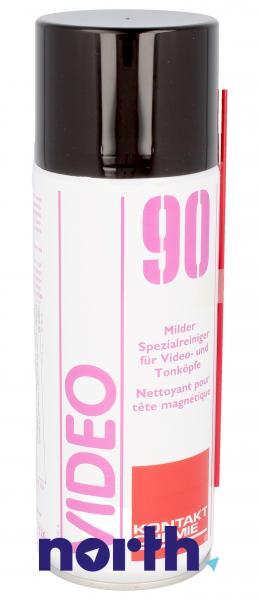 Preparat czyszczący 90-VIDEO-SPRAY do optyki Kontakt Chemie 90VIDEOSPRAY 400ml,0