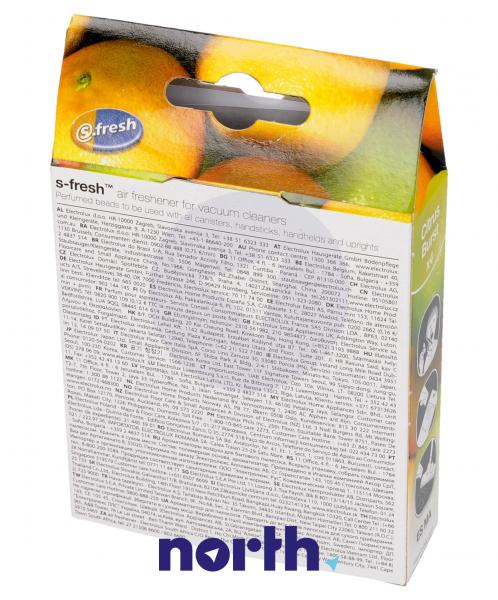 Wkład zapachowy ZE211 (cytrynowy) 4szt. do odkurzacza Electrolux 9002568211,1