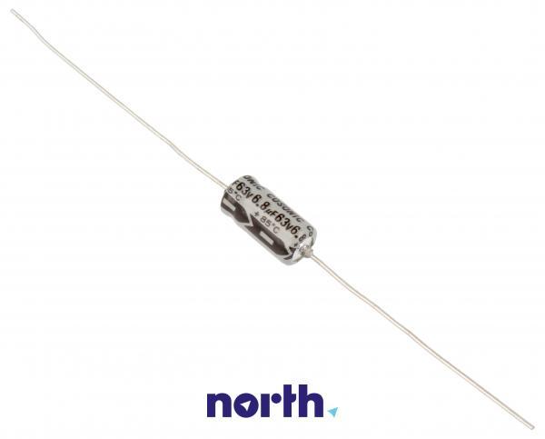 6.8uF | 63V Kondensator elektrolityczny (osiowy) 85°C 12mm/6mm,0