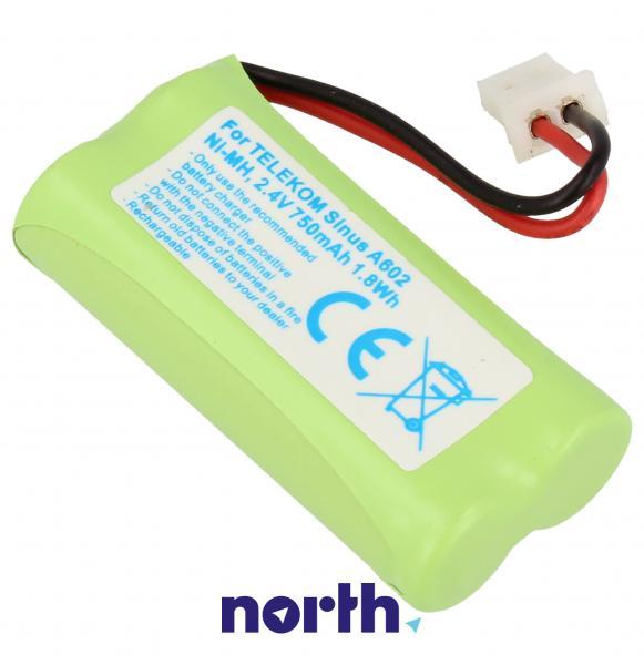 CPAA24023 Akumulator 2.4V 750mAh telefonu bezprzewodowego,1